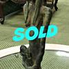 Rare Bronze Baule Figure, Ivory Coast