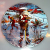 "Dominion China Ltd. 86 ""Dreams of Glory"" 1st plate in the Reflections Of Canadian Childhood Series by Stewart Sherwood. Plate stamped on the back 1986 and numbered 18003B. No cracks or chips.  Excellent condition. Original production. Unboxed. 8.5"" Diameter.  <b>$40</b>"