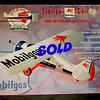 New!!! Gearbox Mobilegas Stinson Detroiter  Die Cast Airplane Bank.  <b>$70</b>