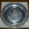 Solid Pewter Collectors Plate From Munchen. Like new condition. German made.  <b> $15<b/>