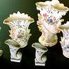 <b>Available at our Livernois Store Location - (313) 345-0884. </b>  Delicate Porcelain Miniature Vases. <b>$35</b>