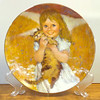 Collector Plate ~ 1980 My Kitty~ 6th Issue ~ The Precious Moments Collection Collector's Plate.<b>$25</b>