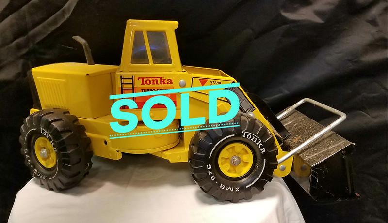 Tonka Turbo Diesel Front End Loader