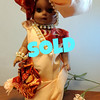 "Dolls Dressed Exquisitely by Doris.  Azizi (""Precious"").  Swahili, East Africa  8 x 14.  <b>$25</b>"