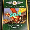 New!!! Gearbox Wings of Texaco 1931 Stearman Bi-Plane Die Cast Airplane Bank.  <b>$60</b>