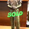 <i>Golf Outing II</i> -  Sculpture Bronze Color Male Sculpture Alice Heath 1993.  <b>$55</b>