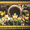 Glorious Tribute to <i>Prince </i> Poster by Acclaimed Detroit Rising Star Artist Curt Lewis.  What appears to be frame is actually part of the poster art.  24 x 18.  <b>$20</b>