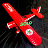 Gearbox Texaco NC5634 Die Cast Airplane Bank in Excellent Condition.  <b>$40</b>