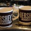 Set of 4 Hershey Coffee Cups.    6 x 4 x 4.  <b>$20</b>
