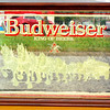 Budweiser Collectible Wall Mirror.  21 x 18.  <b>$40</b>