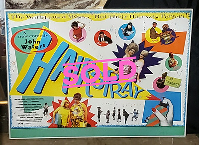 Hairspray 1988 Movie Poster