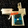 Rare Vintage<i>Holiday</i> 45 Gun Butane Lighter Made in U.S.A.  Circa. 1960's.  Good working order.