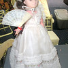 Civil War Lady. Beautifully dressed with original hand held fan, her skin maybe plastic but her presence alone is Golden. <b>$35</b>