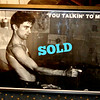 Taxi Driver You Talkin To Me (Commercial) Movie Poster. Framed poster measures approximately 37 x 29.  Copyright on poster is 1997 WCI Posters.   <b>$40</b>