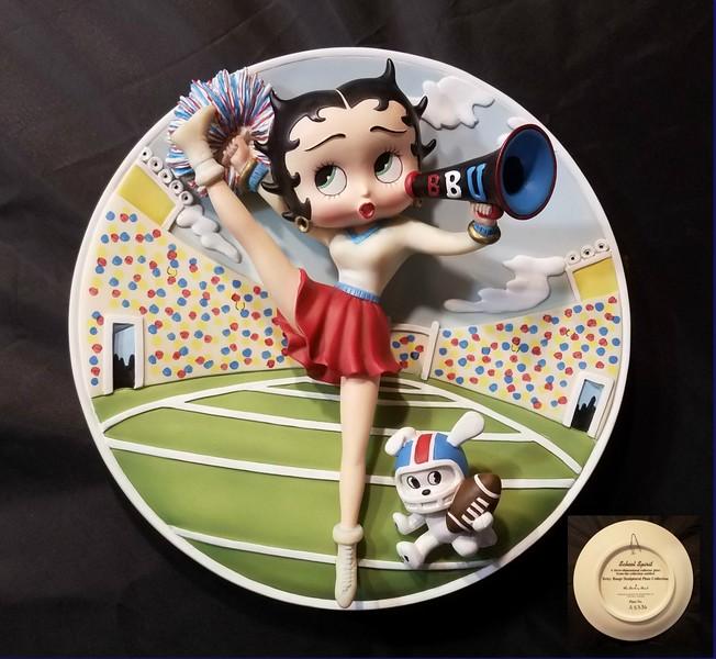 Betty Boop 3D Plate