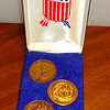 Set of 4 Vintage 1976 Bicentennial Commemorative Medallions. <b>$15</b>