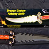 Rare Frost Cutlery <i>Dragon Custom</i> Fantasy Knife.  22 1/2 x 5 1/2.  <b>$125</b>
