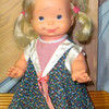 1978 Ideal Squeaky Baby Doll. From her tiny toes to her button nose, this vintage child's toy is in very good working condition and makes a fantastic addition to any tots bedroom.  <b>$25</b>