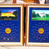 Choice of 2 Presidential Dollars World Reserve Monetary Exchange Gold Frame Display - Rare.    18 3/4 x 26.  <b>$30 each</b>