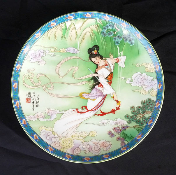 Legends of West Lake Collectors Plate