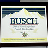 Vintage Busch Beer Wall Mirror in Very Good Condition.  24 x 21.  <b>$40</b>