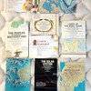 Collection of Unique & Rare National Geographic Maps.  We have 50 or more of these maps in terrific condition.  Some of the titles are shown, but there are old Soviet Union, African, and European maps available as well.   It's fun  to check them out.  <b>$5</b>