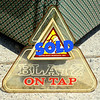 Blatz On Tap Wall Plaque.  16 x 16.  <b>$25</b>