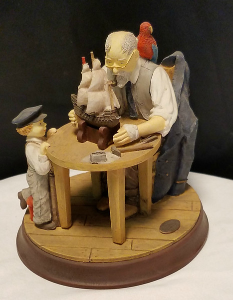 Norman Rockwell Collectible Figurine