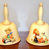Beautiful 1980 & 1981 Annual Hummel Bells.  <b>$20 each.</b>