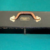 """Vintage Kodascope Sceen #1 Made in the USA by Eastman Kodak Co. Rochester N.Y.  Patent Applied for. This wood box is is 45"""" long x 5"""" x 4 ¾"""". Some of the wood is scratched, but it still easily holds together by it self. This is a good wood framed screen.  Screen is in good condition for its age.  A nice collectible and a versatile screen.  Screen Dimensions: 44 x 38.  <b>$65</b>"""