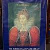 Elisabeth ~ Folger Shakespeare Library ~ Framed Poster.  23 x 30.  <b>$40</b>