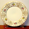 "H & C Haas/Czjzek CORONADO Dinner Plate, Floral Border & Pattern.   Made in Czechoslovakia.  We have a limited inventory of these very rare, hard-to-find, dinner plates.  10 3/4"" across, excellent condition, no chips or cracks. <b>$30 each.</b>"