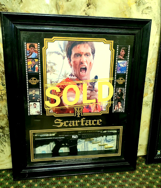 Scarface Shadow Box Poster
