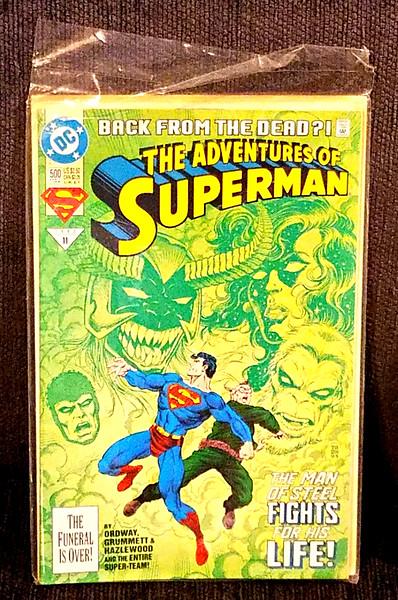 Rare Superman Comic