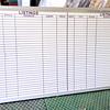 <i>Quartet</i> Dry Erase Board.  96 x 48.  <b>$95</b>