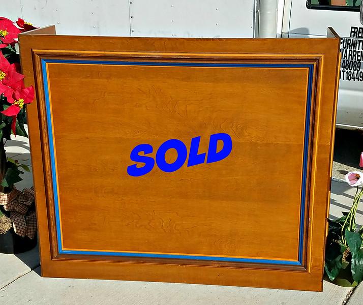 Attractive Solid Wood Pulpit / Lectern / Podium.  54 x 17 x 47.  <b>$325</b>