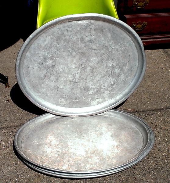 Cast Aluminum Commercial Grade Serving Trays.  28 x 24.  <b>$15 each.</b>