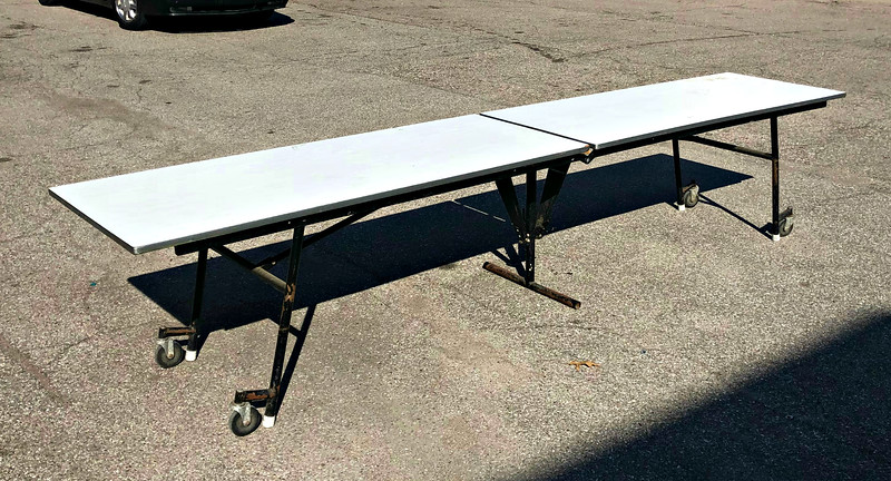 12-Foot Folding Banquet Table