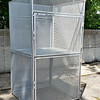 Double Door Mesh Bulk Storage Locker