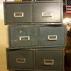 Stackable 2 Drawer Metal File Cabinet