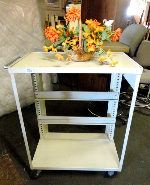 Versatile A/V Cart in Great Condition.  36 x 18 x 43.  <b> $85</b>