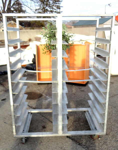Commercial Tray Carts.  51 x 28 x 69.  Smaller models and styles available.<b>$175</b>