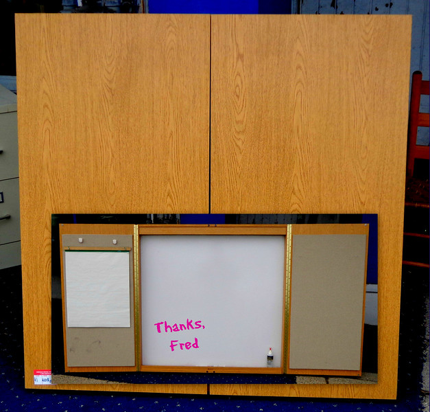 Dry Erase Presentation Board