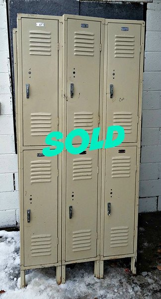 6-Door Steel Locker