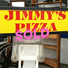 Deluxe Window Mounted Sign Made by ICC Fabricating.  Car window mounted.   Some people claim that back in the 80's, the 2 Jimmy's Pizza locations at 24 mile and Romeo Plank, and 16 Mile and Ryan Road made the best pizzas in Michigan.  Loyal fans still talk about it.  Well, Jimmy's Pizza is no longer around and there really isn't any memorabilia that we can find, so one of these Jimmy's Pizza window mounted delivery signs should do the trick.   23 x 12 x 20.  <b>$35</b>