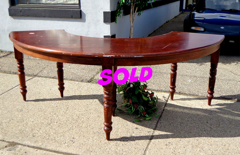 Solid Wood Serving Table
