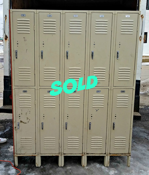 10-Door Steel Locker