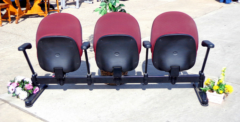3-Chair Theater Seats
