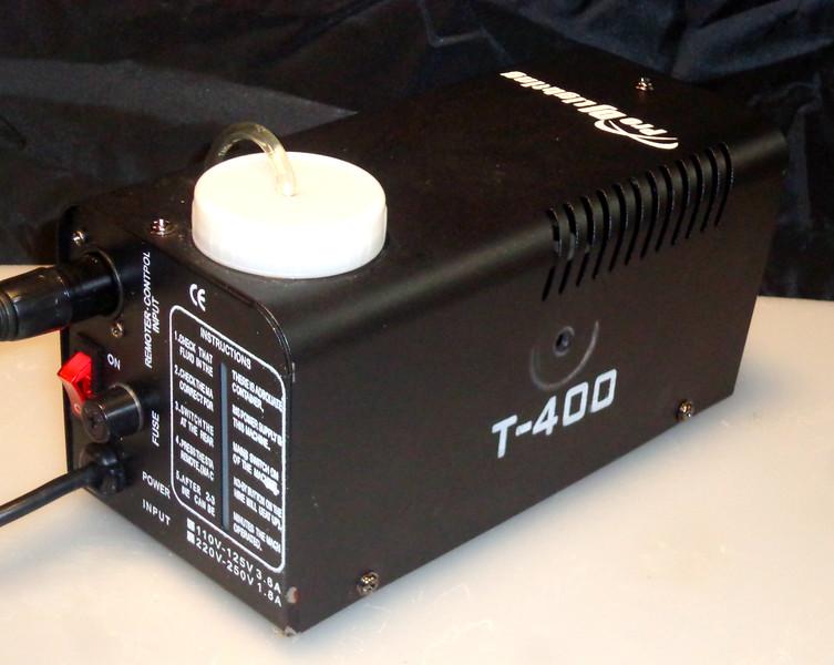 Pro DJ Lighting T-400 Commercial Fog Machine.  <b>$125</b>