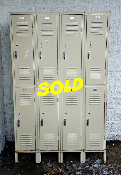 8-Door Steel Locker